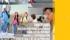 Panorama de la loi NOTRe - Document d�information du CNFPT Aout 2015